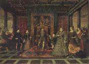 Lucas de Heere The Tudor Sussceesion oil painting picture wholesale