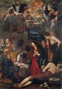 MAINO, Fray Juan Bautista The Adoration of the Shepherds oil painting picture wholesale