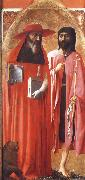 MASACCIO Saints Jerome and john the Baptist oil painting on canvas