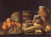 MELeNDEZ, Luis Still life with Oranges and Walnuts oil painting artist