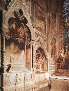 Maso di Banco Tomb with fresco of the resurrection of a member of the Bardi family oil painting artist