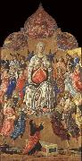Matteo Di Giovanni The Assumption of the Virgin oil painting artist