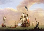 Monamy, Peter Stern view of the first-rate Britannia oil painting picture wholesale