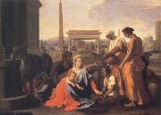 Nicolas Poussin The Holy Family in Egypt oil painting picture wholesale