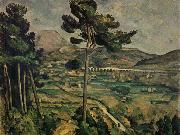 Paul Cezanne Mont Sainte oil painting on canvas