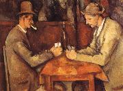 Paul Cezanne Card players oil painting reproduction