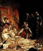 Paul Delaroche The Death of Elizabeth I, Queen of England oil painting picture wholesale