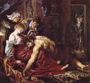 Peter Paul Rubens Samson and Delilah oil painting picture wholesale