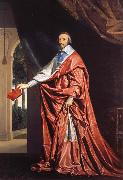 Philippe de Champaigne Cardinal Richelieu oil painting reproduction