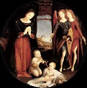 Piero di Cosimo The Adoration of the Christ Child oil painting picture wholesale