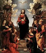 Piero di Cosimo Immaculate Conception with Saints oil painting picture wholesale
