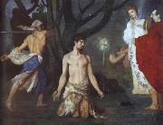 Pierre Puvis de Chavannes The Beheading of Saint John the Baptist oil painting picture wholesale