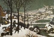 Pieter Bruegel Hunters in the snow oil painting