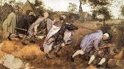 Pieter Bruegel The blind leads the blind persons oil painting