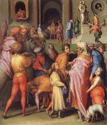 Pontormo Joseph Sold to Potiphar oil painting picture wholesale