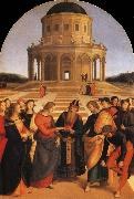 Raphael The Marriage of the Virgin oil painting picture wholesale
