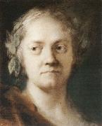Rosalba carriera Self-Portrait oil painting artist