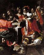 Rutilio Manetti Wedding Feast at Cana oil painting artist