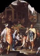 SPRANGER, Bartholomaeus The Adoration of the Kings oil painting picture wholesale