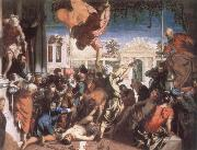 TINTORETTO, Jacopo The Miracle of St Mark Freeing the Slave oil painting picture wholesale