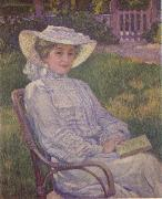 Theo Van Rysselberghe The Woman in White oil painting artist