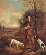 Thomas Gainsborough Marjor John Dade of Tannington,Suffolk oil painting picture wholesale