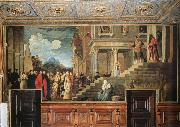 Titian Presentation of the Virgin at the Temple oil painting picture wholesale