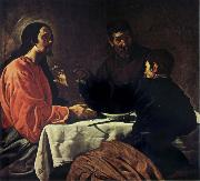 VELAZQUEZ, Diego Rodriguez de Silva y The Supper at Emmaus oil painting picture wholesale