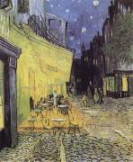 Vincent Van Gogh Cafe Tarrasse by night oil painting reproduction