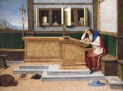 Vincenzo Catena Saint Jerome in His Study oil