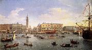 WITTEL, Caspar Andriaans van The Molo Seen from the Bacino di San Marco oil painting picture wholesale