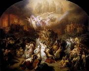 Wilhelm von Kaulbach : The Destruction of Jerusalem by Titus oil painting picture wholesale