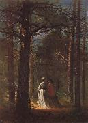 Winslow Homer Der Park von Waverly Oaks oil painting picture wholesale