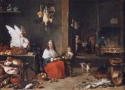 David Teniers cake-interior oil painting reproduction
