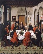 Dieric Bouts Installation of the hl.  Communion oil painting picture wholesale