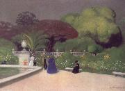 Felix Vallotton The Jardin du Luexmbourg oil painting picture wholesale