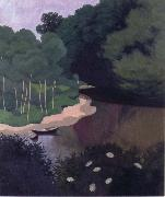 Felix Vallotton The Dordogne at Carennac oil painting picture wholesale