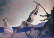 Felix Vallotton Perseus Slays the Dragon oil painting picture wholesale