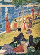 Georges Seurat A sondagseftermiddag pa on Allow to Magnifico Jatte oil painting picture wholesale