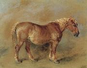 James Ward A Suffolk Punch oil painting picture wholesale