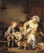 Jean Baptiste Greuze The Verwohnte child oil painting picture wholesale