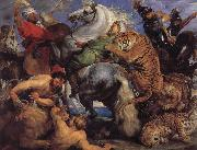 Peter Paul Rubens Tiger-and Lowenjagd oil painting picture wholesale