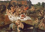 Piero di Cosimo the battle between Lapithen and Kentauren oil painting picture wholesale