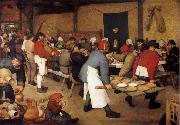 Pieter Bruegel Bauernbocbzeit oil painting picture wholesale