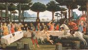 Sandro Botticelli workshop picture out of the series the story of the Anastasius degli Onesti oil painting picture wholesale