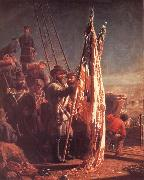 Thomas Waterman Wood The Return of the Flags 1865 oil