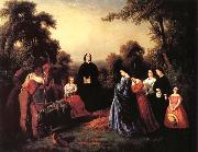 Washington Allston Burial of Latane oil painting picture wholesale