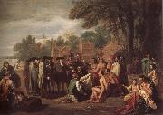 Benjamin West Treatly oil painting picture wholesale