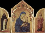 Duccio Virgin and Child oil