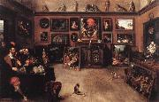 Francken, Frans II An Antique Dealer-s Gallery oil painting picture wholesale